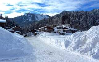 Горнолыжные курорты Германии в Баварских Альпах и других регионах