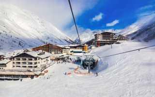 Австрийские горнолыжные курорты: популярные районы, список лучших курортов Австрии
