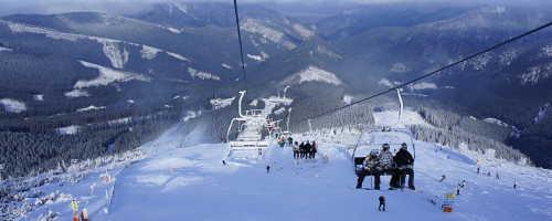 Популярные горнолыжные районы и курорты в Словакии