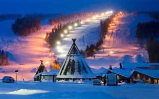 Горнолыжные курорты Финляндии: карта регионов для катания, популярные комплексы