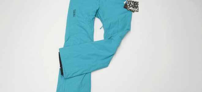 Женские штаны для сноуборда: на что ориентироваться при выборе, популярные бренды