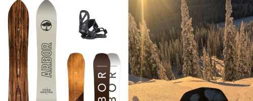 Arbor Snowboards: описание технологии сноубордоа Арбор, материал изготовления и цены на доски