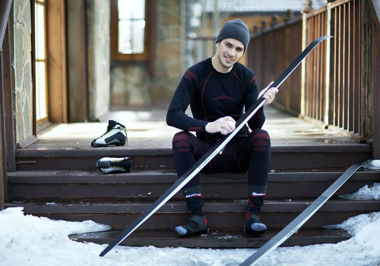 Комфортность катания зависит от качества горнолыжного термобелья