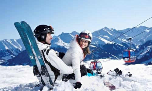 Зимой любители активного отдыха отправляются в горы
