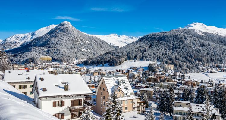 Курорт Швейцарии Давос
