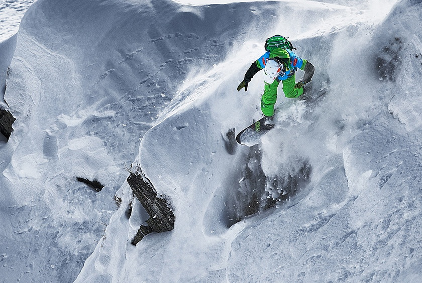 Свободный стиль езды на сноуборде