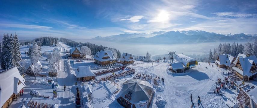 Польша предлагает большой простор для любителей горнолыжного спорта
