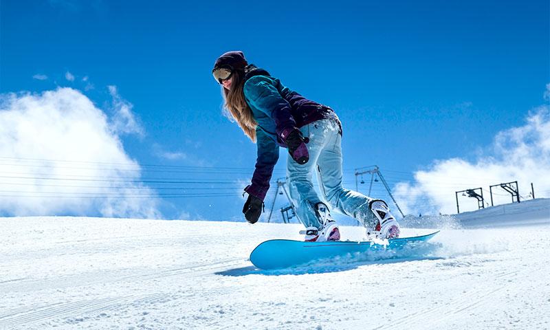 Езда на сноуборде