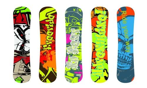 Как выбрать наклейки на сноуборд
