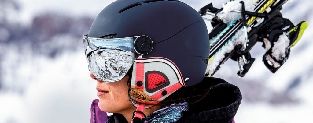 Примерка шлема