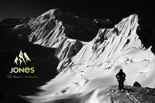 Jones snowboards плакат