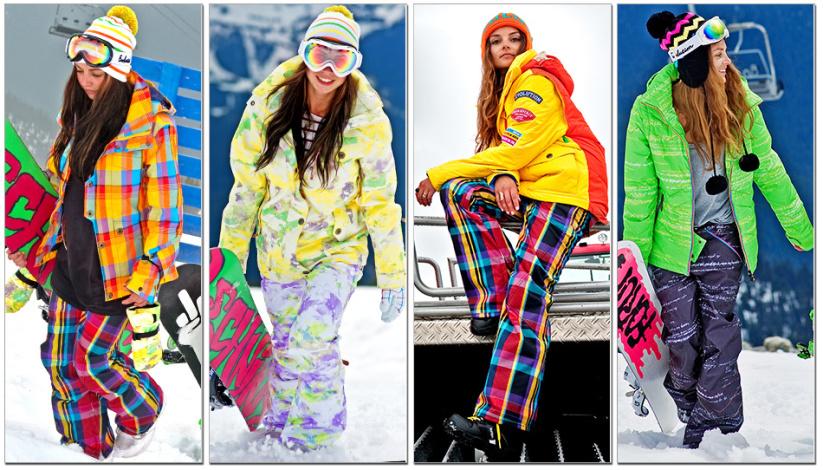 Женские брюки для сноубординга
